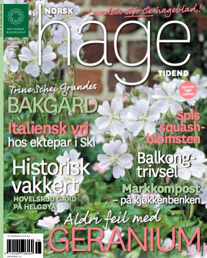 Norsk Hagetidende nr 6
